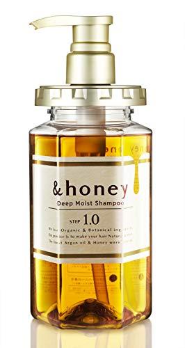 &honey Shampoo Deep Moist 1.0 Organic Hair and Scalp Care for Intense...