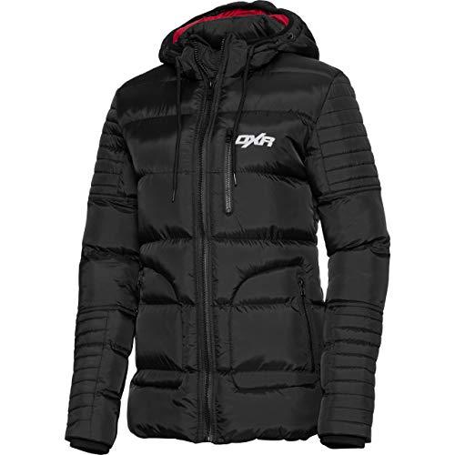 DXR Jacke Übergangsjacke Sommerjacke Outdoorjacke Steppmantel Damen 1.0 schwarz XL, Casual/Fashion, Winter, Textil