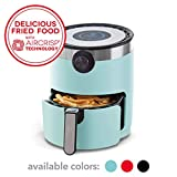 Dash DMAF360GBAQ02 AirCrisp Pro Electric Air Fryer + Oven Cooker with Digital Display + 8 Presets, Temperature...