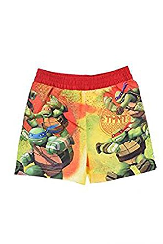 Nickelodeon Shorts Boxer Kostuum Kind Turtles Ninja (8 jaar, Red)