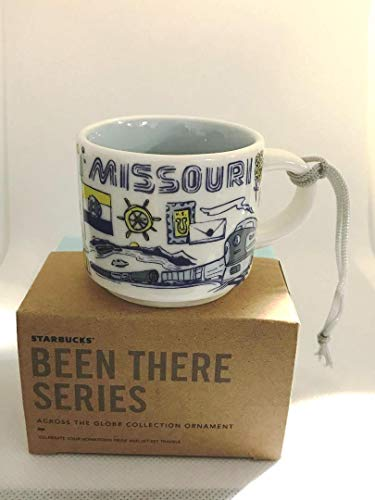 Starbucks MISSOURI BEEN THERE SERIES ACROSS THE GLOBE COLLECTION Demitasse Espresso Coffee Mug Cup Ornament