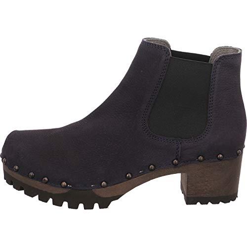 Softclox S3358 Isabelle - Damen Schuhe Stiefeletten - dark-ocean-18, Größe:38 EU