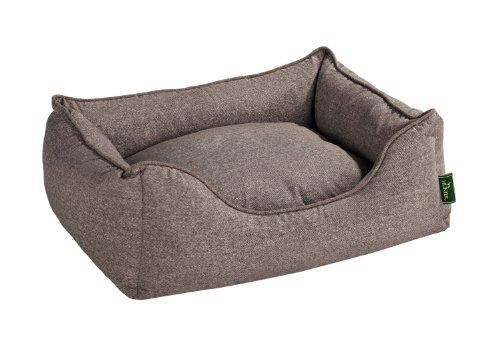 HUNTER Boston Perro sofá, Grande, Color marrón