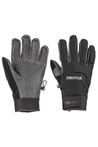 Marmot Herren Hardshell Handschuhe, Winddicht, Wasserdicht XT Glove, Black, M, 14290