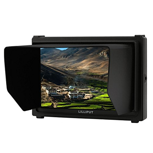 "Lilliput Q7 7"" Full HD Camera Monitor with SDI and HDMI Cross Conversion Metal Housing High Resolution for DSLR"