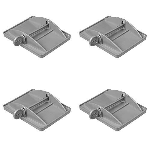 ProPlus 4x XL St/ützplatten f/ür die Eckpfosten Bietet zus/ätzliche Stabilit/ät f/ür Wohnwagen Wohnmobile und Camper caravan accessories