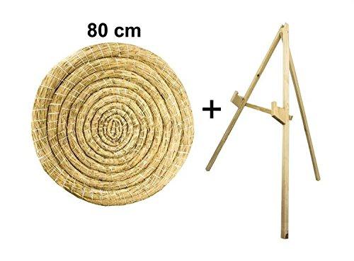 Sekula-Archery Diana de Paja, 80cm Redondas con un Soporte