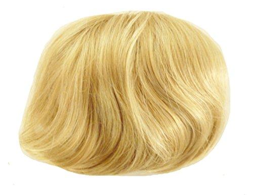 JM-Fashion-Supply Extensions à chignon ouvert DUTT - Différentes couleurs - Multicolore - Blond moyen 15(20) #, 16-18 Durchmesser