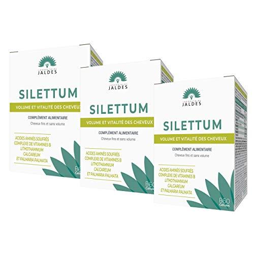 Jaldes Silettum Nutrition du Cheveu Lot de 3 x 60 Gelules