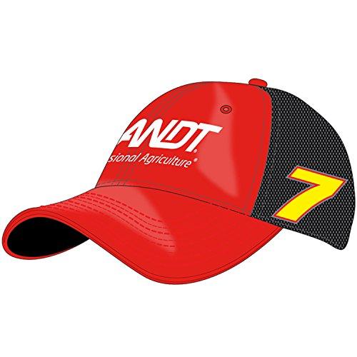 NASCAR Justin Allgaier, Brandt, Vintage Trucker Hat, One Size Fits Most Red/Black