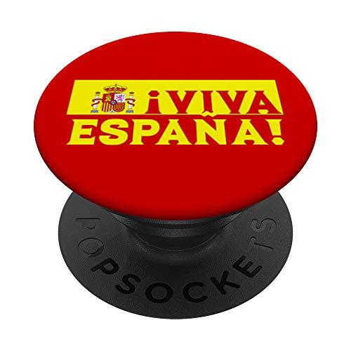 Lunga vita alla Spagna unita Orgoglioso di essere spagnolo PopSockets Supporto e Impugnatura per Smartphone e Tablet