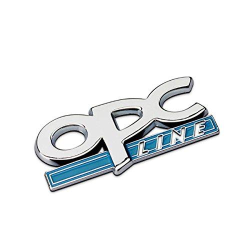 Dsycar 1 Stücke 3D Metall OPC Auto Seitenfender Kofferraum Emblem Abzeichen Aufkleber Aufkleber (1)