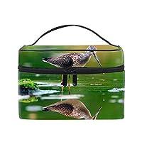 鳥化粧ポーチ 便利グッズ 旅行用ポーチ バッグインバッグ 収納バッグ ペンケース 筆記具 男女兼用