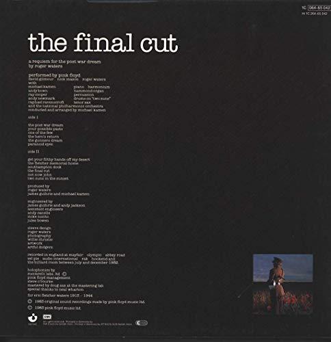 THE FINAL CUT VINYL LP[1C06465042 1983 PINK FLOYD - 2