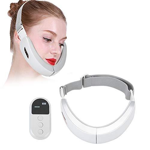 Elektrisches V Face Shaping Massagegerät mit Blaulicht & Rotlicht, EMS Gesichts Massagegerät Face Slimming Maschine Intelligentes Facelifting Massagegerät mit Vibration funktion