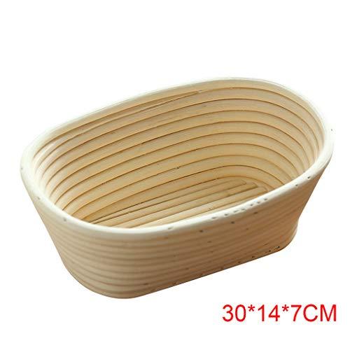 Multi grootte ronde ovale rustieke ronde rotan fermentatie brood fermentatie rotan mand bakschaal keuken Gadget DIY Tool