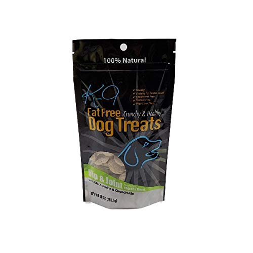 K9 Fat Free Dog Treats, Fat Free, Healthy and Low Calorie (Hip & Joint, 10 oz.)