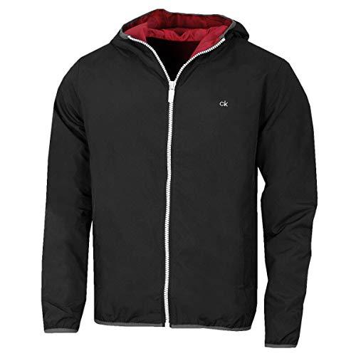 Calvin Klein Herren 364 Golf Jacket Hoodie - Schwarz - L