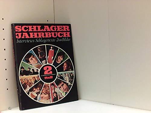 Schlager-Jahrbuch Nr. 2 - Interviews - Schlagertexte, 200 Bilder - Bastei Buch. Über The Beatles, The Rolling Stones, Kinks, Bob Dylan, German Beat, Udo Jürgens, Chansonnieres, Hildegard Knef, Folk, Barbra Streisand u.v.a.m.,