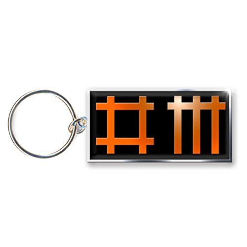 Unbekannt Depeche Mode - Metall Schlüsselanhänger - Logo