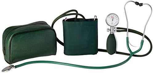 ERKA Erkatest Blutdruckmessgerät, mit Green Cuff Superb D-Ring, Größe 4, Grün