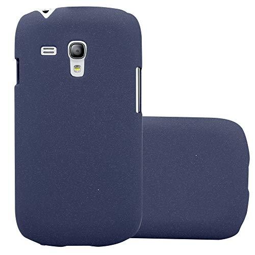 Cadorabo Coque pour Samsung Galaxy S3 Mini en Frosty Bleu - Housse Protection Rigide en Plastique Dur avec Anti-Choc et Anti-Rayures - Ultra Slim Fin Hard Case Cover Bumper