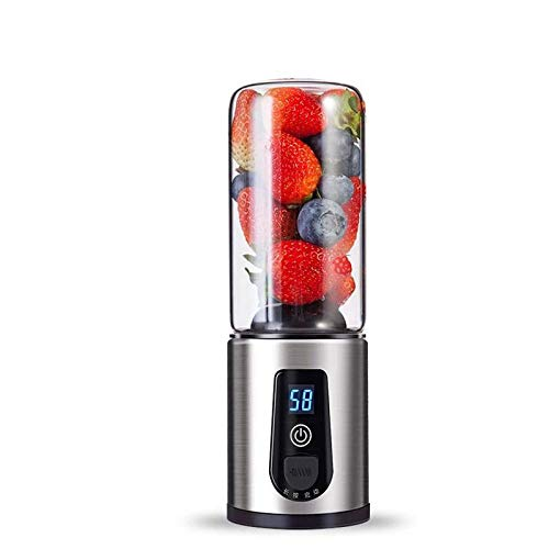 Lowest Prices! USB Rechargeable Juicer Mini Portable Juice Cup Travel Fruit Blender Electric Juicer ...