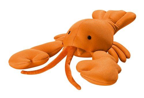 HUNTER AQUA TOY LOBSTER Hundespielzeug, Wasserspielzeug, Neopren, schwimmfähig, Hummer, 30 cm, orange