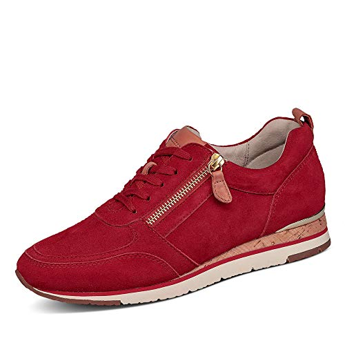 Gabor hasta 25 mm suelo deportivo Tacón / Cuña Rojo, color Rojo, talla 37 EU