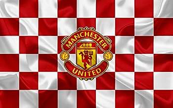 Football Club Manchester United Emblem Print Football,Football Wall Poster Football Wall Print Football Wall Art Football Decor