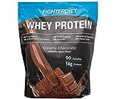 Fighterdiet Whey Protein Chocolate - 32 oz