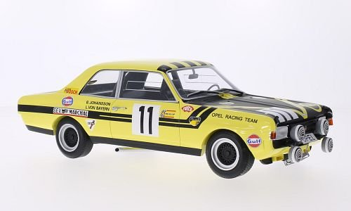 Opel Commodore A, No.11, Steinmetz Tuning, 24h Spa, 1970, Modellauto, Fertigmodell, Minichamps 1:18