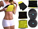 CHANCY Men's and Women's Latex-free Neoprene Belly Fat Burner Sweat Shaper Belt