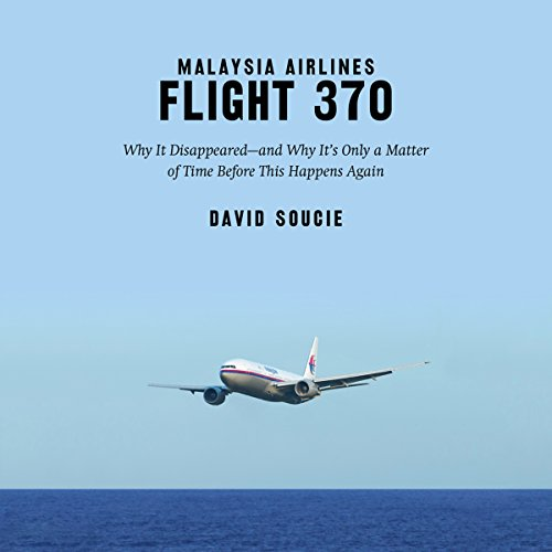 Malaysia Airlines Flight 370 audiobook cover art