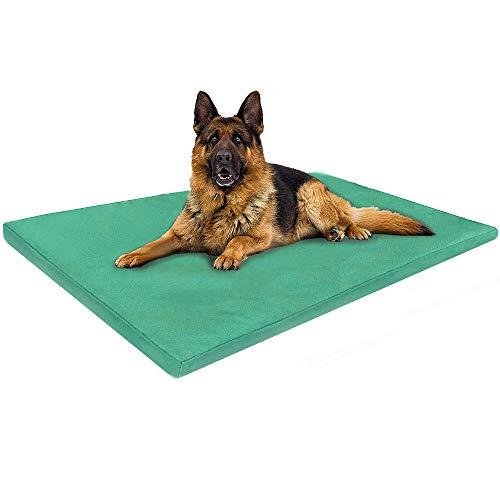ADOV Hundebett, Wasserfestes Doppelseitiges Waschbar Hundekissen, Strapazierfähige Hundematte, Hygienisch Weiche Hundematratze für Hunde, Katzen, Andere Haustiere – Groß