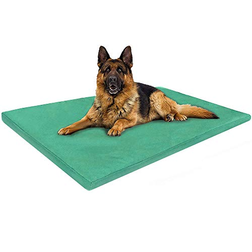 ADOV Dog Bed Large, Double-sided Waterproof Pet Bed, Durable Oxford Washable Removable Cover Orthopaedic Foam Mat, Luxury Cushion Mattress for Dogs, Cats, Other Small and Big Pets - (112 x 74cm)