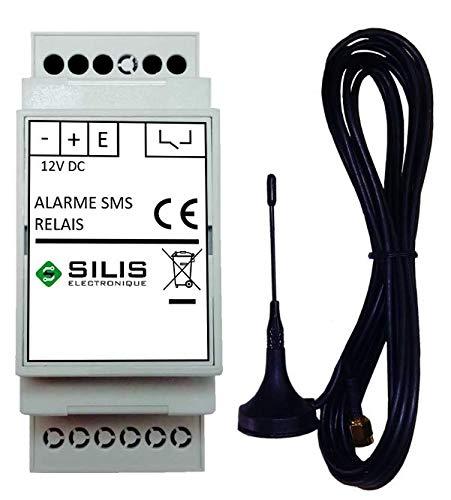 Transmetteur d'alarme GSM - Paramétrage par SMS - simple d'installation (aucun logiciel)