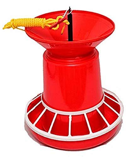Praish Plastic Semi Automatic Nova Feeder, 4.5kg (Red)