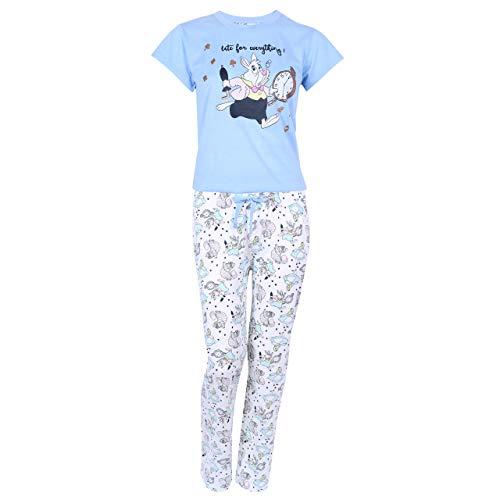 Blauer Schlafanzug von Alice im Wunderland Walt Disney - 40-42 / UK 14-16 / EU 42-44