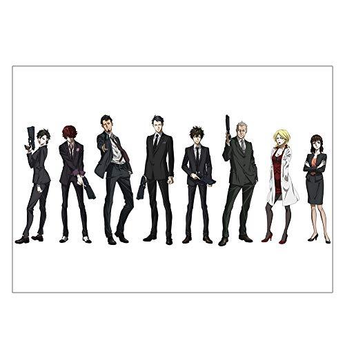 ALTcompluser Anime Poster Psycho-Pass Wanddekoration Wandbild Kleinformat Plakat, Zimmer Deko Wand(Motiv 2)