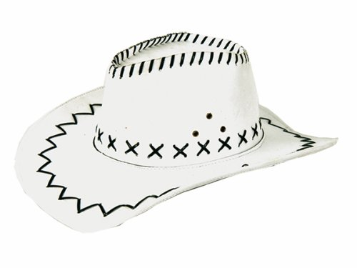 Chapeau cowboy country blanc