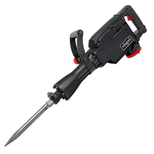 Scheppach Abbruchhammer DB2000 (1700W, 50 Joule, Sechskant-Aufnahme 30mm, Spitz- und Flachmeißel, Koffer) Stemmhammer