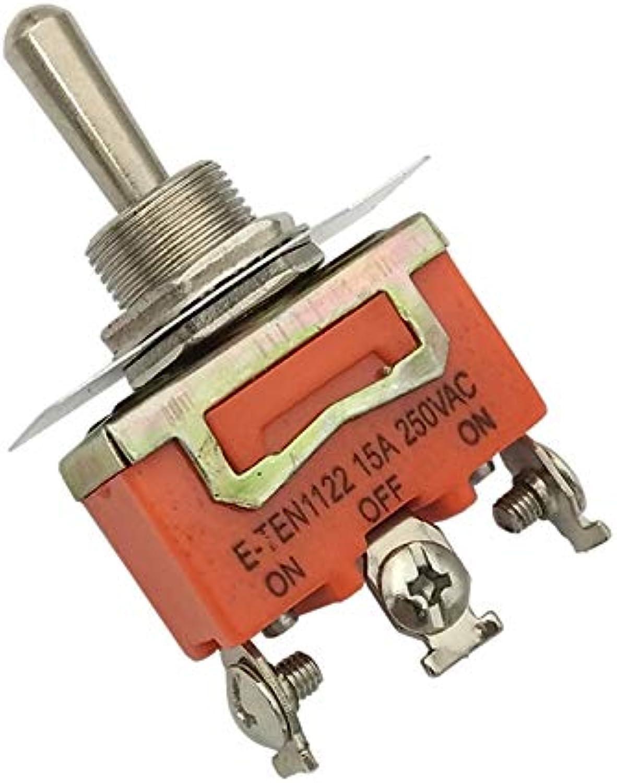 Mini Toggle Switch SPDT 15A 250VAC Mini Switch 3 Pin ONOffON