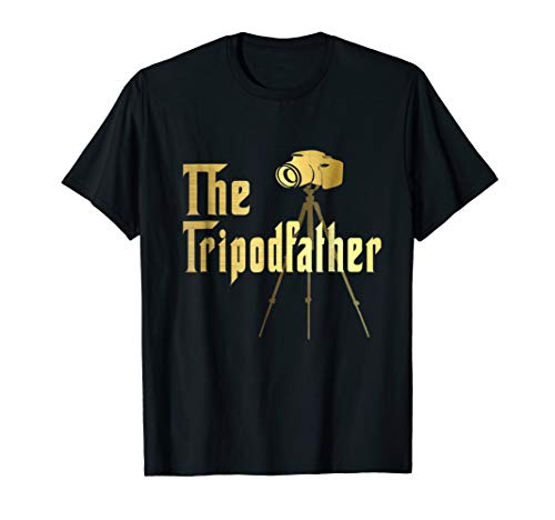 Best Hilarious Photography Tripod Camera Funny Gift T-Shirt