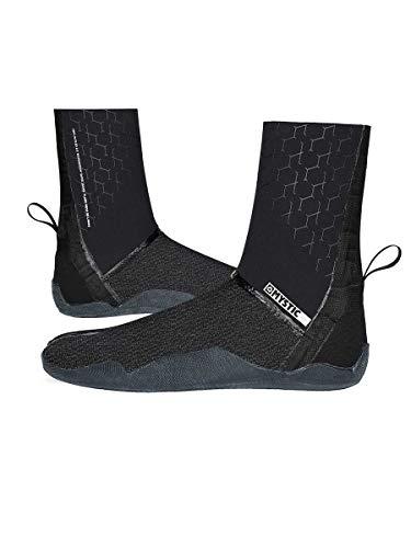 Mystic Watersports - Surf Kitesurf & Windsurfen Majestic 3mm Neopren Neoprenanzug Stiefel Schuhe - Boot Split Toe Black - Easy