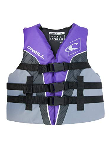 O'NEILL Superlite Youth USCG Life Vest Ultraviolet/Graphite/Smoke (4725)