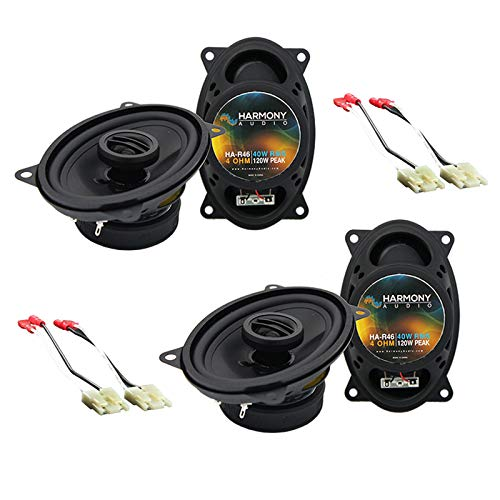 Harmony Audio R46 Factory Speaker Upgrade Package Compatible with Chevy CK Truck (Full Size) 1988-1994