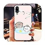 Coque de téléphone pour Huawei Honor 6 7 8 9 10 10i 20 A C X Lite Pro Play Noir étanche...
