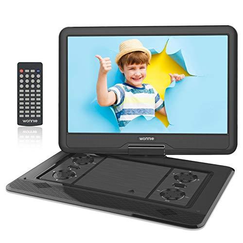WONNIE - Lettore DVD portatile da 17,5