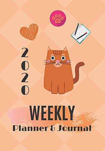 2020 Weekly Planner & Journal: Schedule Organiser